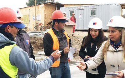 Autoridades realizan fiscalización de obras en San Fernando