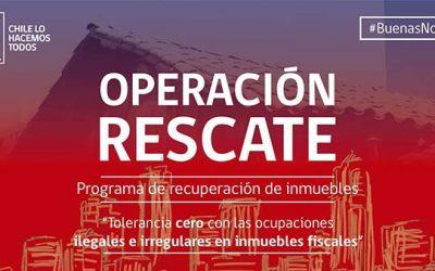 Bienes Nacionales inicia operación rescate que recuperará inmuebles fiscales en condición irregular