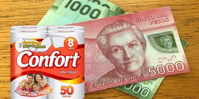 Cerca de 6 millones 600 mil consumidores ya han cobrado los $7.000 del papel higiénico