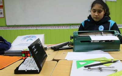 Colegio Jean Piaget se especializa en educación para no videntes