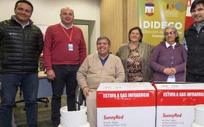 Con donación en Rengo, Gasco continúa plan para fomentar descontaminación de la Región