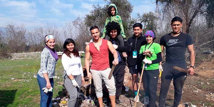Estudiantes rancagüinos fueron parte de los Trabajos de Invierno en Paine