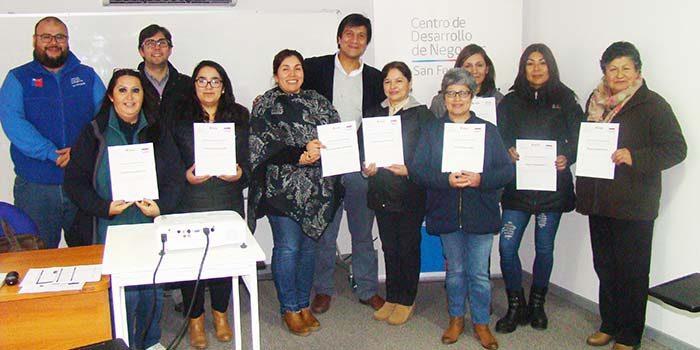 Exitosa escuela de emprendimiento femenino organizada por el Centro de Desarrollo de Negocios
