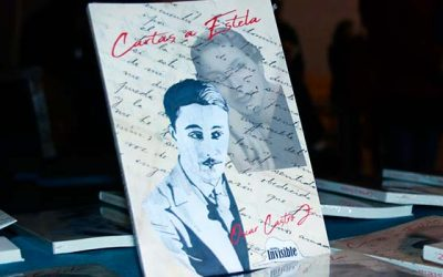 Flavio Vicente Lillo presenta el libro cartas a Estela
