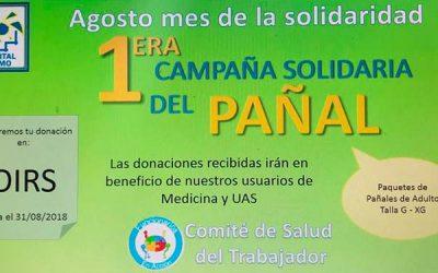 Funcionarios del Hospital de Peumo inician campaña solidaria