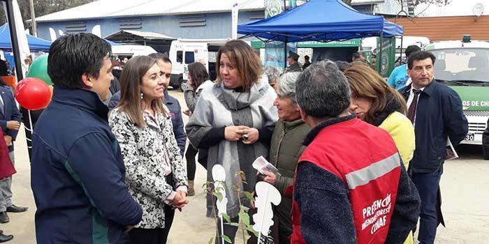 """Gobernación de Cachapoal y municipio de Codegua llevan a cabo una nueva versión de """"Gobierno en terreno"""""""