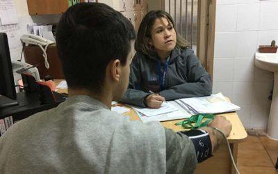 Hospital de Peumo realiza exámenes preventivos a internos del Centro de Detención