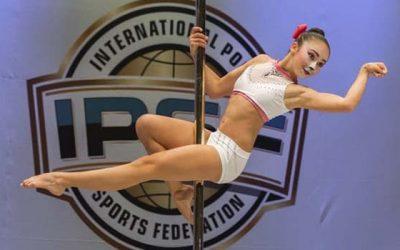 Joven deportista obtiene tercer lugar latinoamericano en Campeonato Mundial de Pole Sport