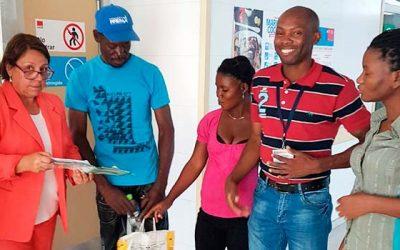 La puerta de entrada a la salud pública de la comunidad haitiana en Machalí