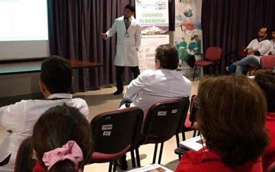 Médicos del Hospital de Santa Cruz actualizan conocimientos en relación al uso de antibióticos
