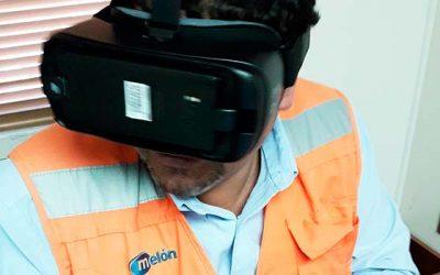 Melón implementa herramienta de realidad virtual para capacitar a operadores de equipos móviles
