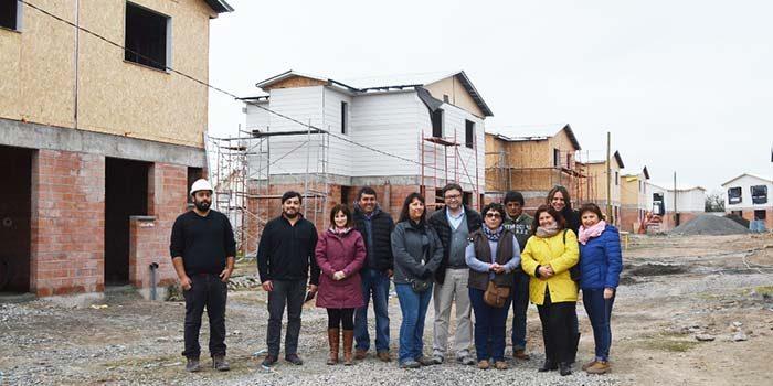 Minvu avanza en construcción de conjunto Jardines de Colchagua