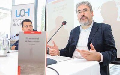 """Poeta Juan Carlos Paredes lanza libro """"El memorial de las cenizas"""" en la UOH"""