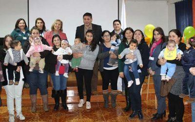 Premian a diez mamás de Doñihue por promover la lactancia materna