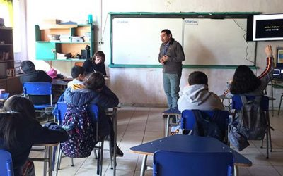 Senda Previene Pichilemu realiza charlas a alumnos de Cahuil