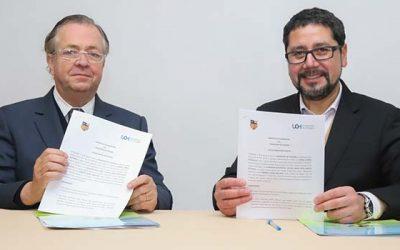 Universidad de O'Higgins y Fide regional firman convenio para potenciar investigación educacional