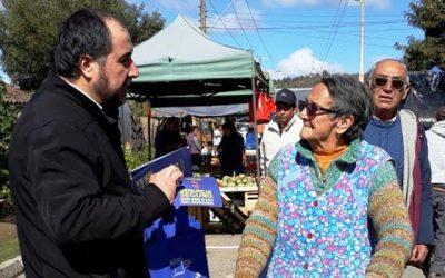 Vecinos de Marchigüe conocen la importancia de la denuncia