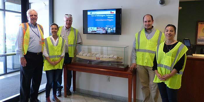 Académicos de la UOH visitan Universidad de Delaware