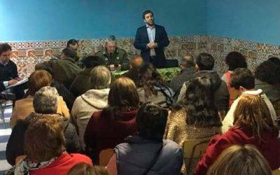 Amplían mesa de trabajo constituida por juntas de vecinos del sector La Cruz de Rancagua y Diputado Raúl Soto