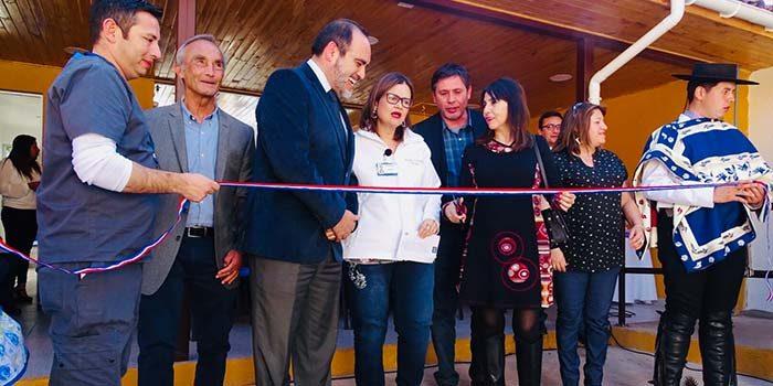 Autoridades inauguran Unidad Oftalmológica en Doñihue