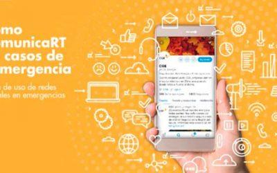 Cómo ComunicaRT en #Emergencias: Guía para el uso de redes sociales en contingencias