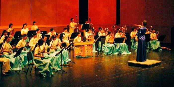 Concierto gratuito de música tradicional china