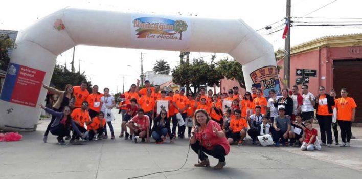 Corrida por la Vida se toma de Nancagua