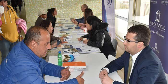 Corte de Apelaciones y tribunales de Rancagua realizan II plaza ciudadana en hospital regional
