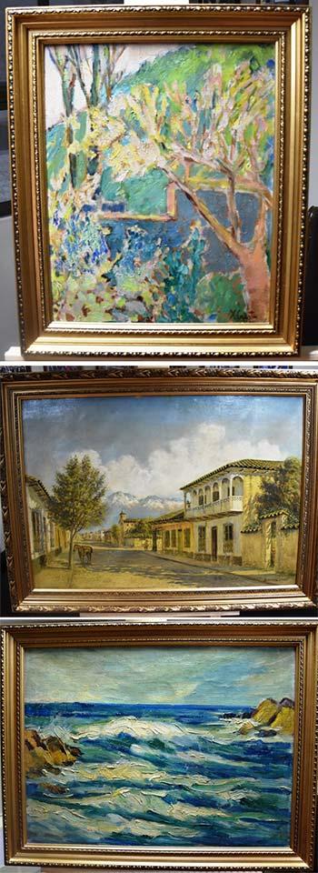 Corte de Rancagua recibe donación de obras de destacados pintores regionales