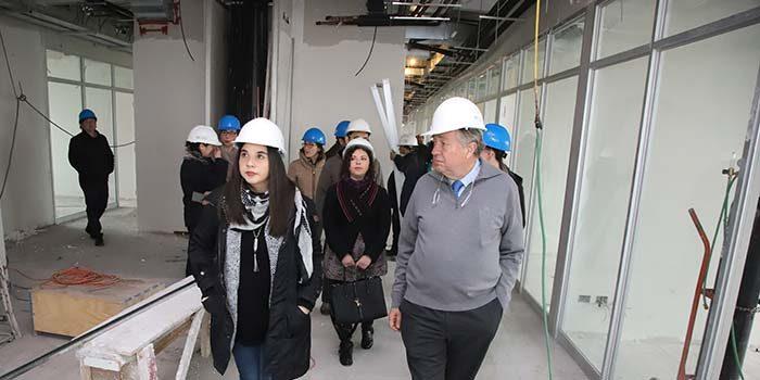 En marzo de 2019 edificio central UOH tendrá siete pisos habilitados para docencia e investigación