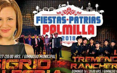 En pleno desarrollo actividades de celebración de Fiestas Patria Palmilla 2018