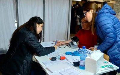 Equipo de Salud de Graneros se movilizó para entregar atención médica a vecinos de sectores rurales