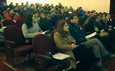 Expositores regionales y nacionales realizan seminario de alimentos funcionales a más de 70 pequeños agricultores