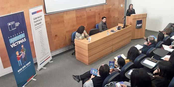 Gobernación de Cachapoal dio inicio a ciclo de charlas sobre seguridad pública y ciudadana