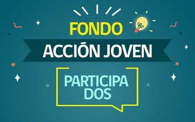 Injuv lanza Fondo Acción Joven-Participa Dos por 200 millones de pesos