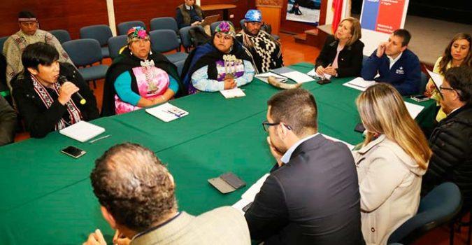 Intendente encabeza conformación de Mesa Regional Indígena de OHiggins