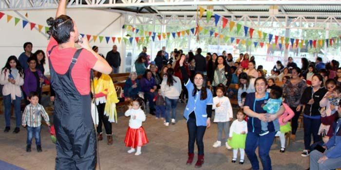 Jardín de Integra en Litueche realiza encuentro por el bienestar de los niños