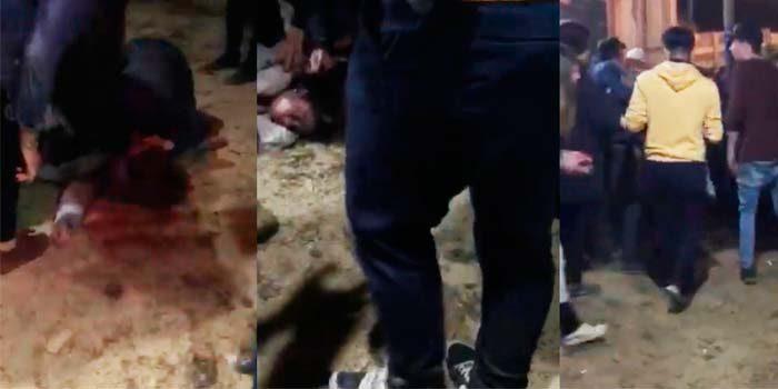 Jóvenes borrachos provocan estampida humana en Fonda de Pichilemu