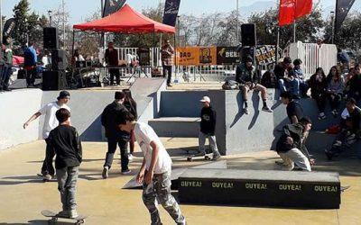 Jóvenes gestionan construcción de skatepark con fondos concursables del Injuv