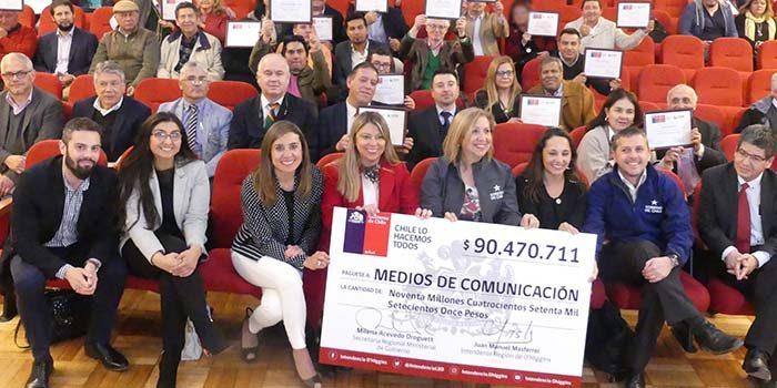 Más de 90 millones de pesos para medios de comunicación en la Región de O´Higgins
