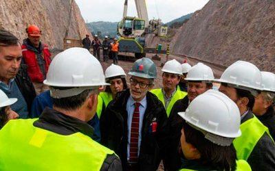 Ministro de obras públicas visita destacadas obras en región de O'Higgins