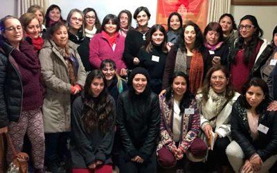Mujeres de la Región del Maule y O'Higgins participan de la escuela de formación política femenina del Partido Comunista