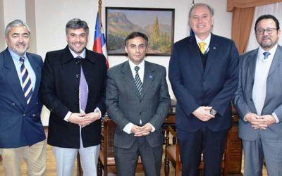 Presidente de la Corte de Rancagua recibe visita de la directiva nacional de la Aprajud