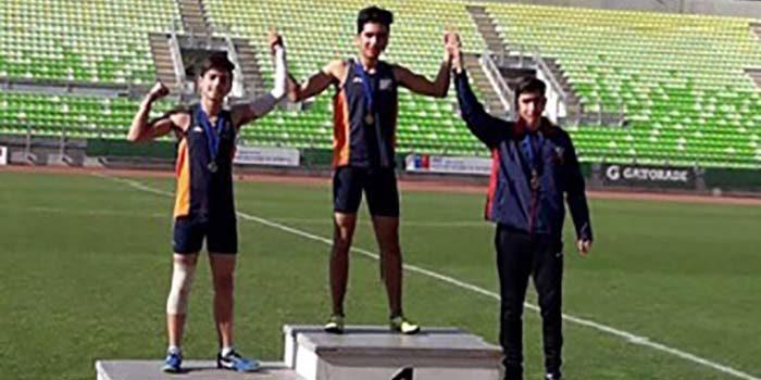 Rancagua se subió al podio en el Torneo Atlético de Valparaíso
