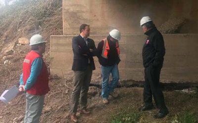 Reparaciones del Puente La Gloria de Nancagua finalizan en el mes de noviembre