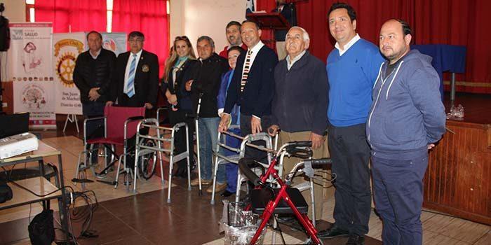 Rotary Club San Juan de Machalí finaliza positivamente subvención del Ecógrafo 3D a la salud municipal