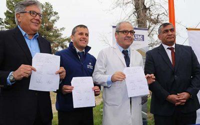 Subsecretario Castillo e Intendente dan el vamos a obras del nuevo Cesfam 2 de Rancagua