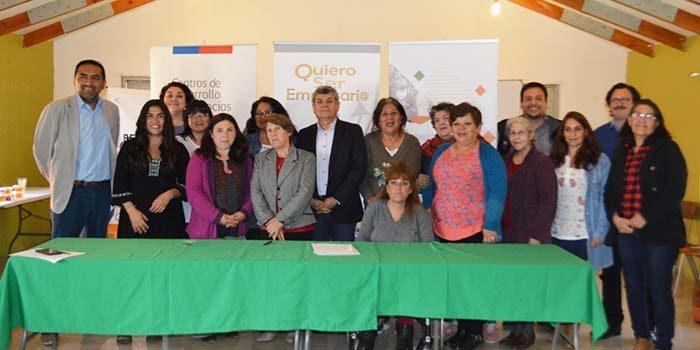 30 mujeres de Olivar y Coya caminan en la ruta del emprendimiento con la formación de Pro OHiggins