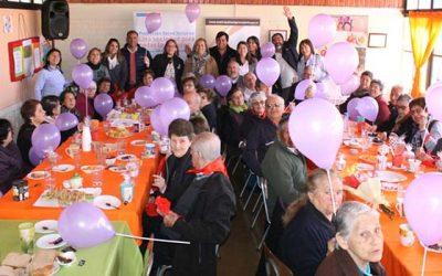 Adultos mayores de Tilcoco celebran día nacional del adulto mayor