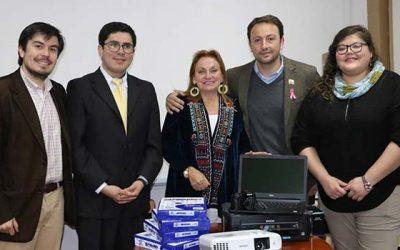Agrupaciones de discapacitados de Colchagua recibieron equipamiento computacional